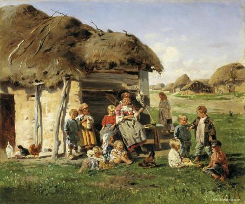 لوحات من الفن التشكيلي بروسيا  821884317