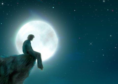 بكي القمر