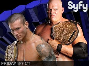 حصريـآ : تحميل مبـآرة لـ Randy Orton ضد Kane بعرض Smackdown 145653849