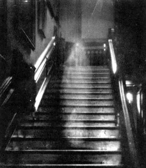 صورة جن على الدرج :