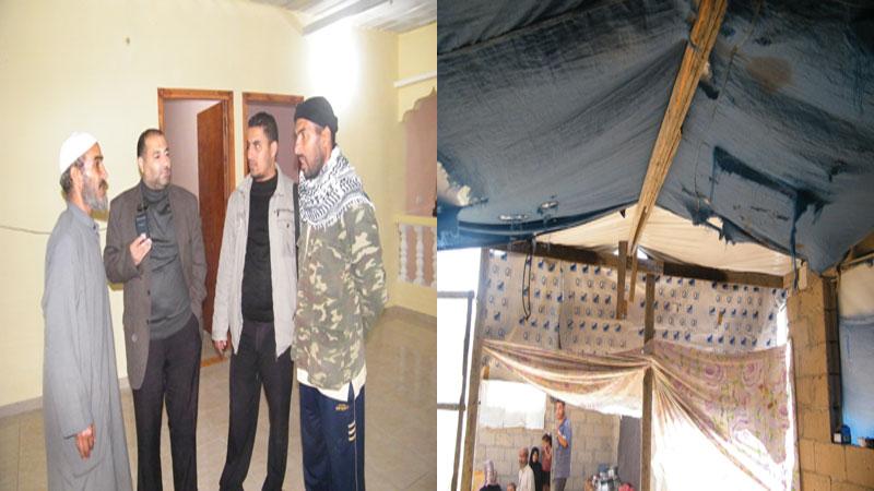 أسرة فلسطينية حلمت بغرفة تسترها