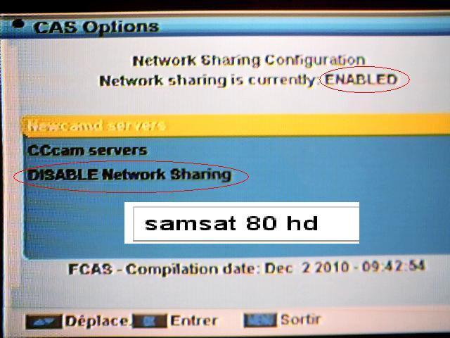 طريقة إدخال بيانات سيرفر MGcamd & Cccam & Newcamd على أجهزة المورسات LAMPDA & MU & NU 445085193
