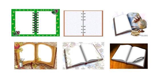 صور لكتب يمكن وضع الصور فيها