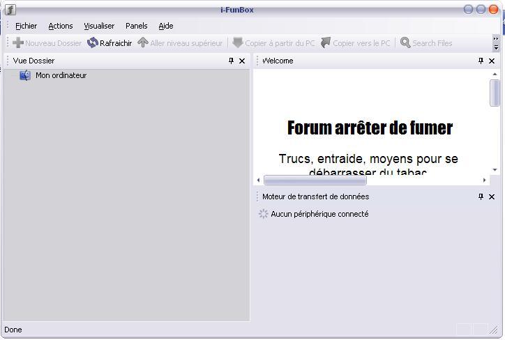طريق استعمال برنامج i-funBox