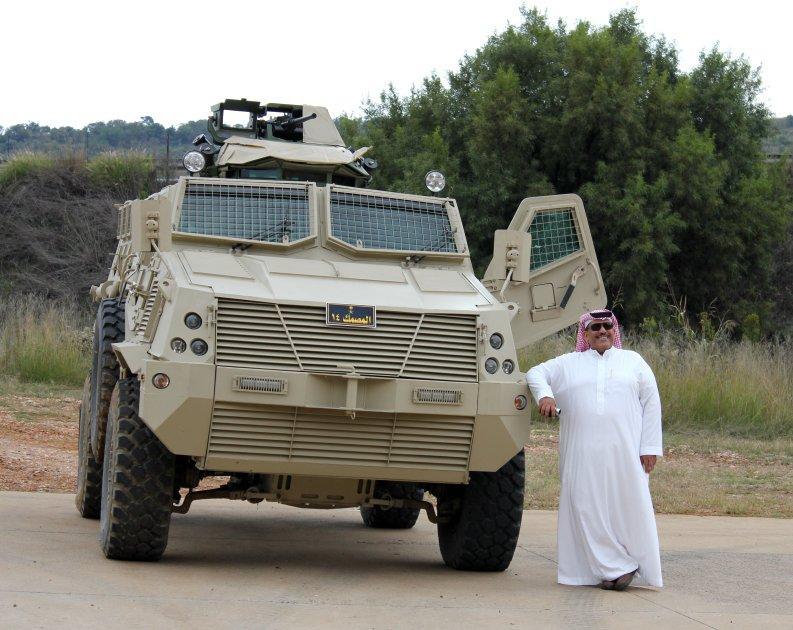 المدرعة السعودية المضادة للألغام - المصمك -  609702148