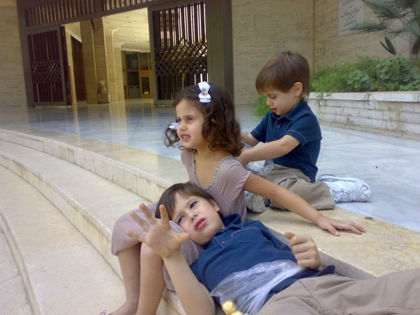 صور ابناء بشار الاسد