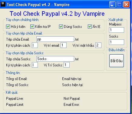 best paypal checker *automatic*