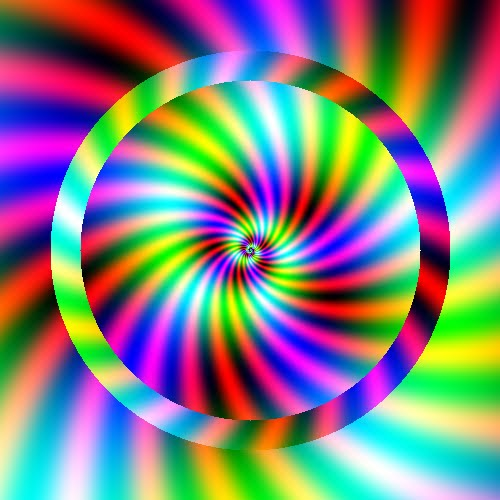 Circles colors color spectrum minimalistic spheres wallpaper