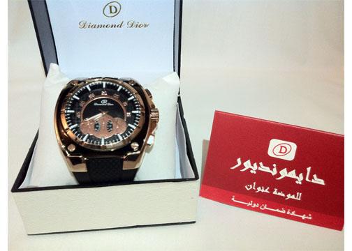 849eadda6 للبيع ساعة Diamond Dior رجالية + ضمان لمدة سنه ..