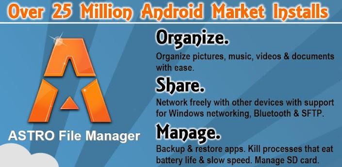 ASTRO File Manager / Browser Pro v3 1 359