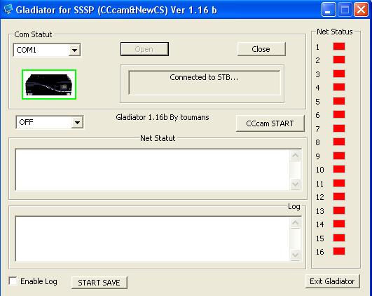gladiator sssp cccam & newcamd