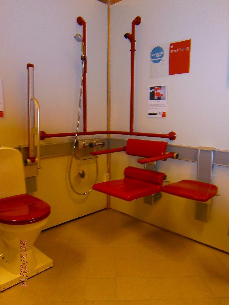 تجهيزات الحمام لذوي الاحتياجات الخاصة