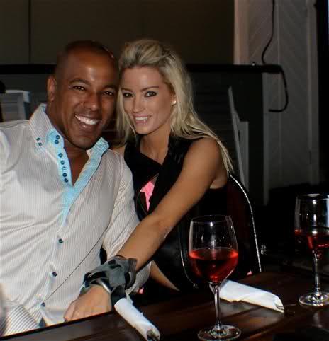 LinaAxmacher Miss World Sweden with her boyfriend