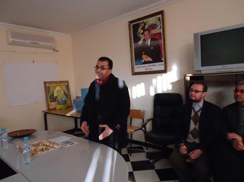 تكريم د. محمد بنسعلي نائب منسق نادي داء السكري 748787924