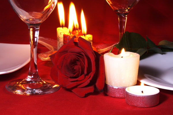 عشاء رومانسي