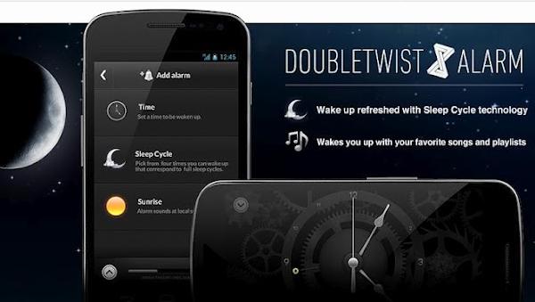 Clock, the most beautiful Alarm appdoubleTwist Alarm Clock is hands-down