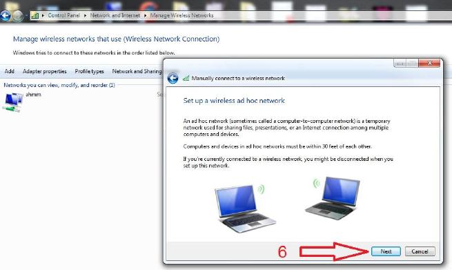 ربط مجموعة حاسبات عن طريق الواير ليس لويندوز 7 210750028