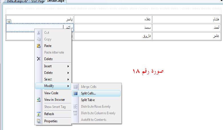ASP.NET للمبتدئين ....الدرس الثالث _عناصر التحكم في بيئة ASP.NET 248192615