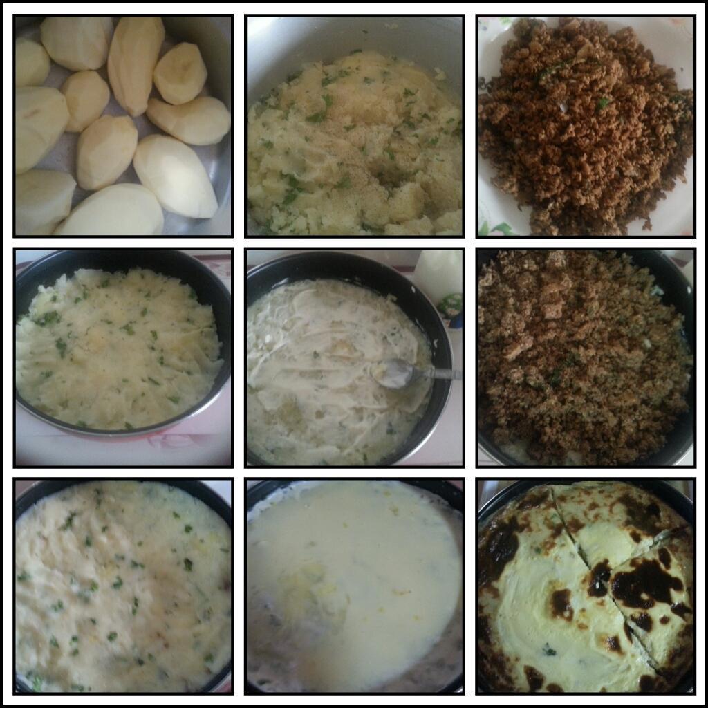 مطبخي صينية بطاطسِ اللحم~~