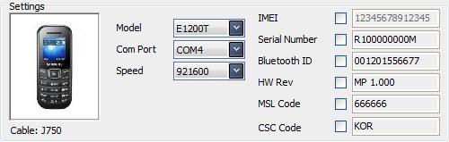 طريقة تفليش العربية ل samsung gt-E1205t على العملاق z3x .