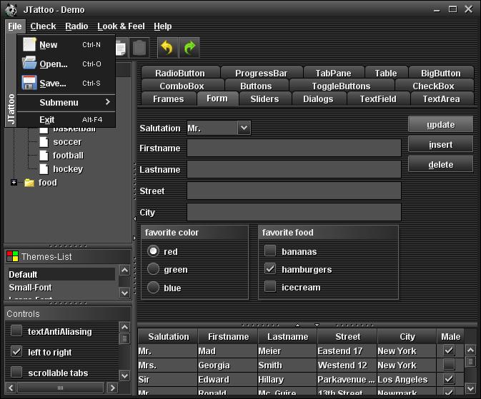 تعلم كيفية استخدام المكتبة JTattoo لانشاء تطبيقات سطح المكتب ذات واجهة مستخدم رسومية جذابة 914350496