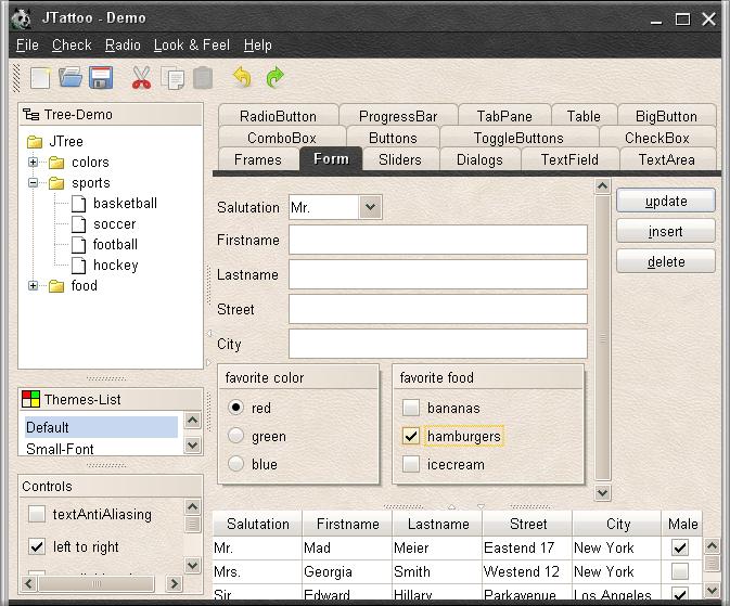 تعلم كيفية استخدام المكتبة JTattoo لانشاء تطبيقات سطح المكتب ذات واجهة مستخدم رسومية جذابة 960278310