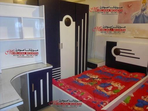 تشكيلة غرف نوم أطفال مودرن 2018  Mobiliana Modern    سريرين أطفال  سراير