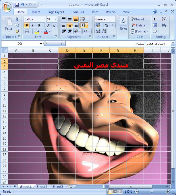 إدراج صور كخلفية في مصنف Excel من خلال VB.NET  552395366