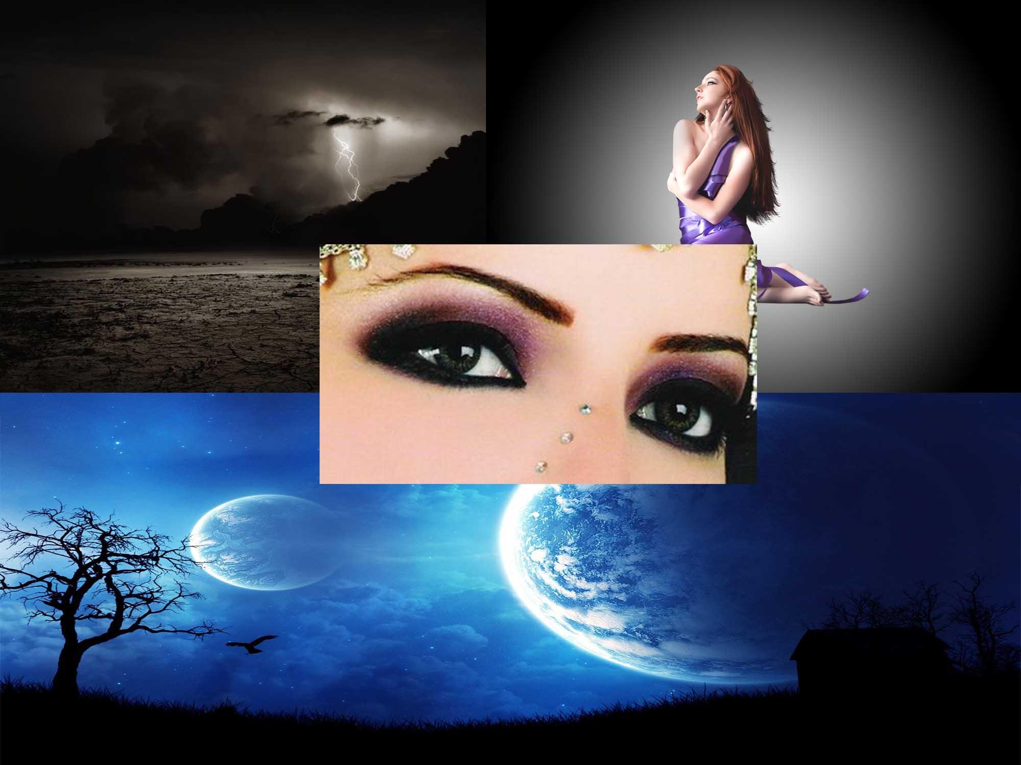 عاشقة القمر