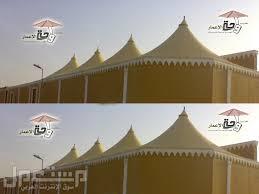 مظلات وسواتر واحة الأعمار (مظلات pvc للمشاريع-فلل-قصور-ساحات-المزيد) باقل سعر 0557110595