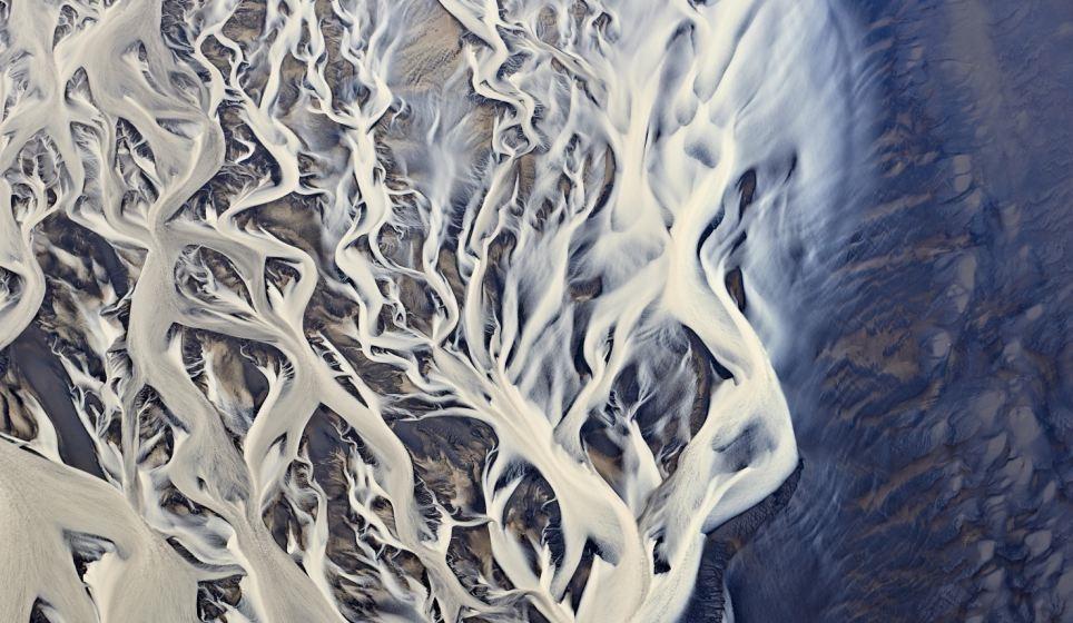جليد آيسلندا مشاهد واقعية ليست جرافيك