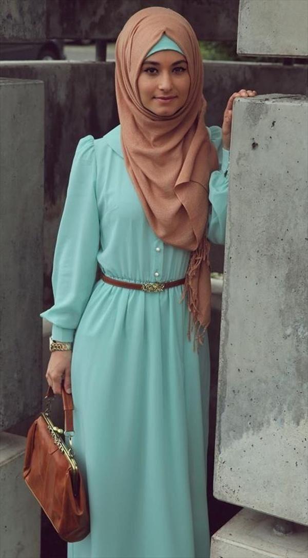 ca42f0dbf0430 اجمل ملابس محجبات 2014 - منتديات درر العراق