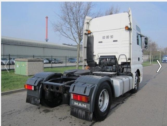 لدينا شاحنة tga18.430 موديل 2004