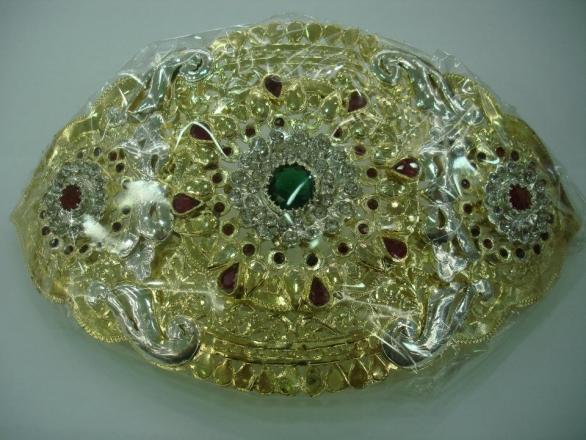 احزمة مغربية المعدن المطعم بالدهي 460244083.jpg