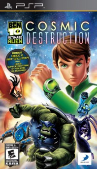 Ben 10 Ultimate Alien Cosmic Destruction - PSP