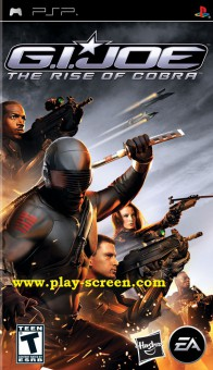 G.I.JOE The Rise Of Cobra - PSP