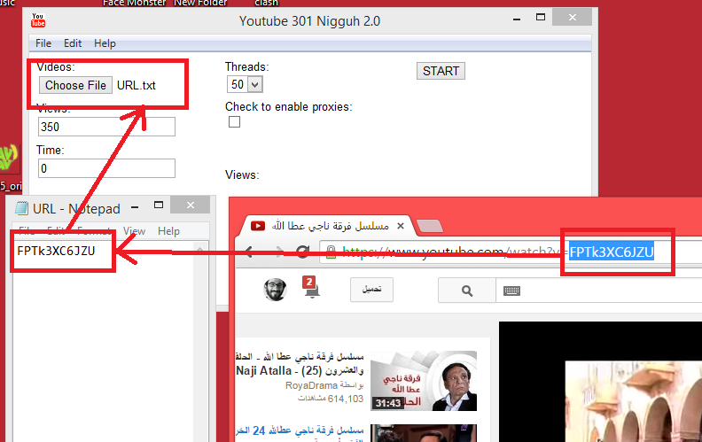Bot status like for youtube 2014