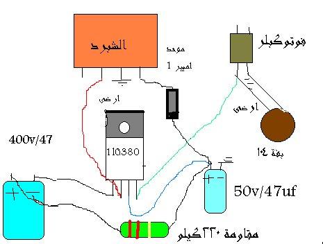 شرح دائره الرسيفر الكهربائيه فى الدخول وعرض محتوتها اهداء الى قسم الصيانه 502682238