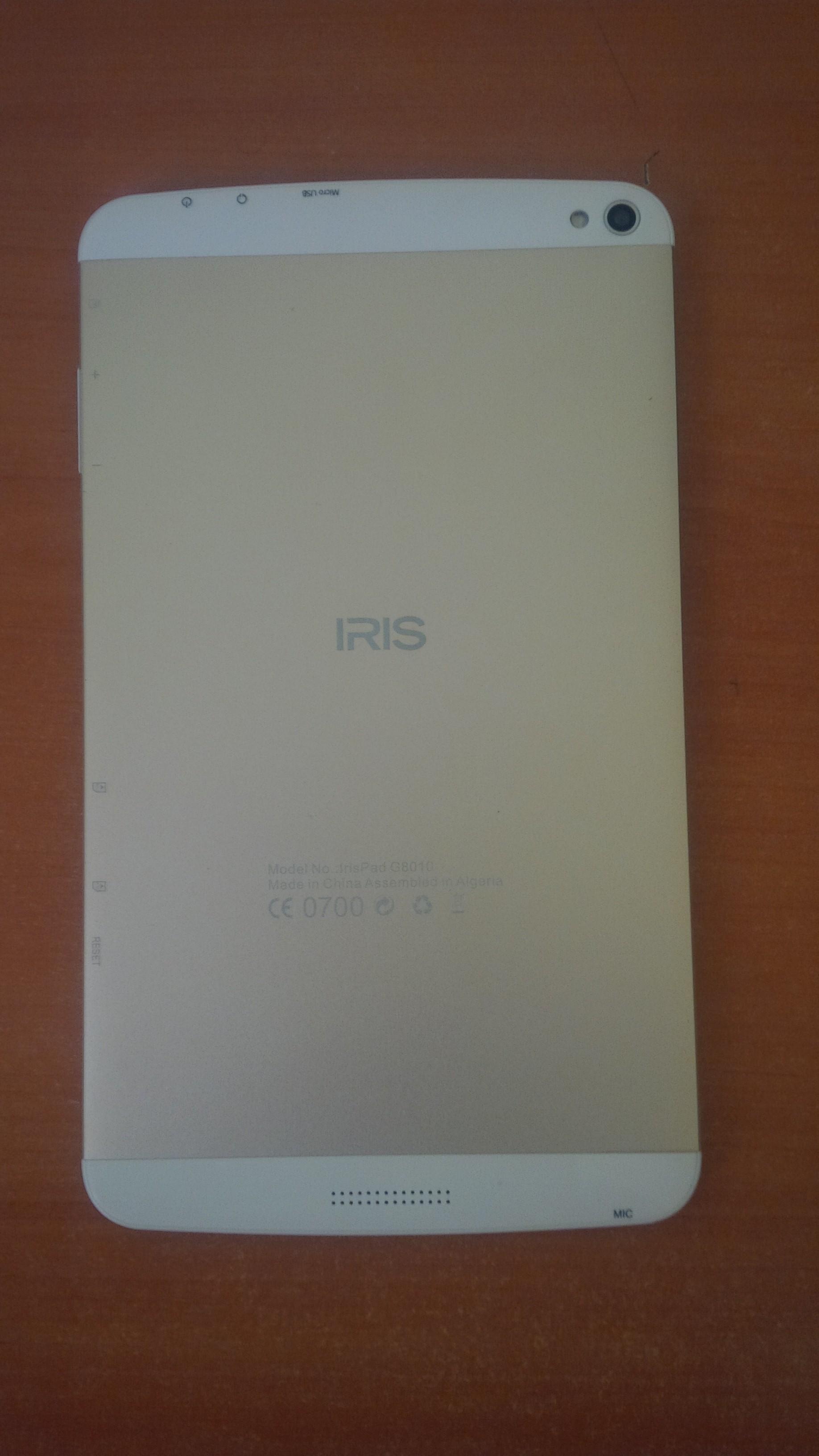 توضيح بالنسبة لشاشة اللمس (Digital) الخاص بـ Irispad G8010