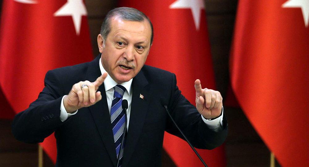 الرئيس التركي يصرح بان الحكومة الألمانية مقدمة على الانتحار إن منعته من الحديث للأتراك في ألمانيا