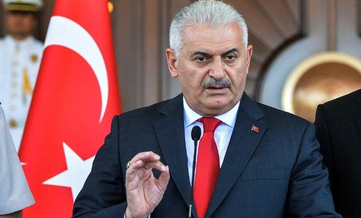 رئيس الحكومة التركية : لنا الثقة بقدرة العراق على إكمال ماتبقى من اراض عراقية