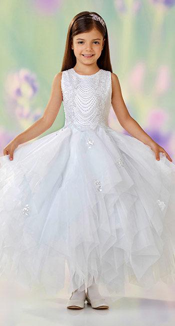 22f3e61746f28 فساتين اعراس للاطفال مفعمة بالرقي والاناقة حصري 2018 - مجتمع رجيم
