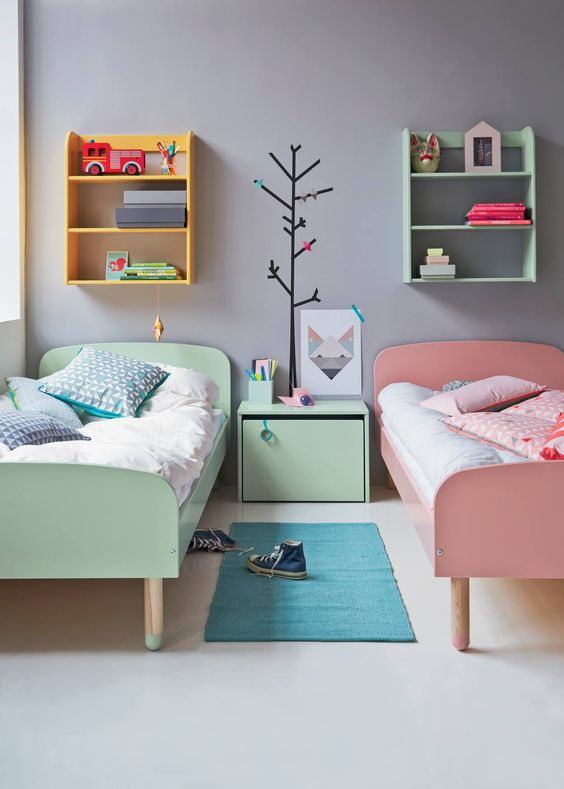 اجمل ديكورات غرف اطفال بألوان مبهجة وانيقة 2018 845661897.jpg