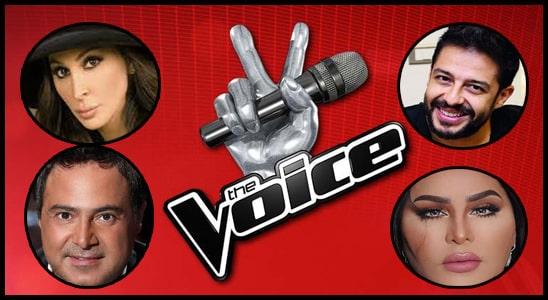 جميع اغاني الحلقة الأولي برنامج The Voice الموسم الرابع
