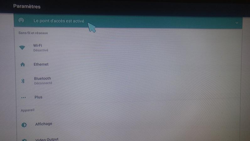شرح طريقة تحويل جهاز الاستقبال GEANT 750 4K الى موزع أنترنت WI-FI