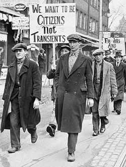 الكساد الكبير 1929م