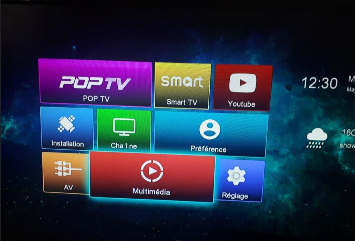 جديد VISION AMIGO 3 خاصية SATTUBE TV و تثبيث Canal+ و BEIN SPORT