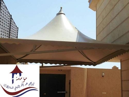 واجمل انواع المظلات والسواتر بمؤسسة الشيخي