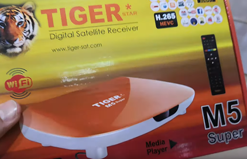أقدم إصدار جديد لجهاز tiger