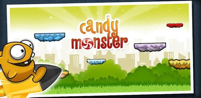 حصرياً اللعبه الجميله والبسيطه candy monster